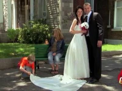 Испорченное свадебное платье (Little Kid Ruins Wedding Dress Prank)