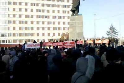 митинг оренбург 10 декабря 2011