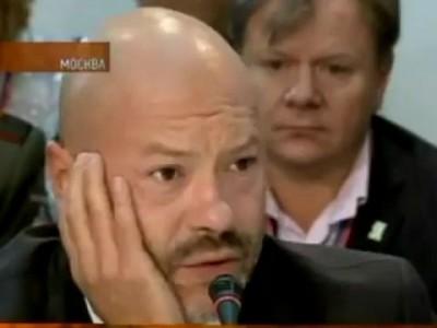Бондарчук отжОг на Съезде Едра 23 09 2011