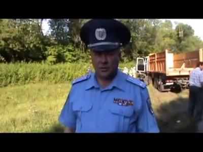 Грузовик протаранил микроавтобус в Хмельницкой обл