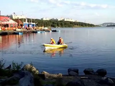 Первый раз на лодке
