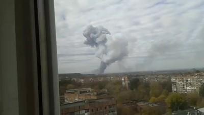 Ракетный удар по Донецку Точка У