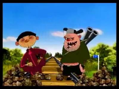 Приключения Сапсанчика: Сапсанчик и хулиганы