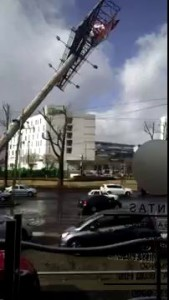 Caída espectacular en Toluca