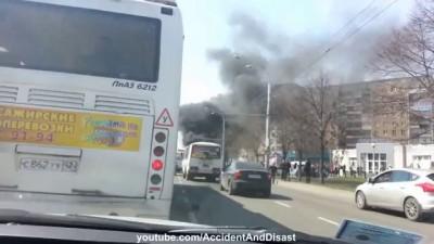 Последствия аварии в Новокузнецке 23.04.2013