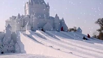 Русские зимние игры или детские зимние забавы. Слайд-шоу с песенкой про русские зимние игры.