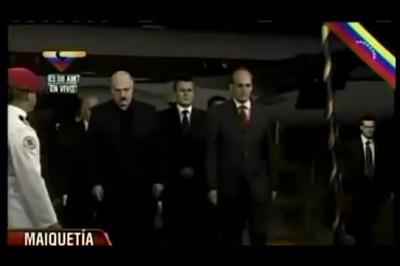 Лукашенко прибыл на похороны Чавеса в слезах. 07.03.2013
