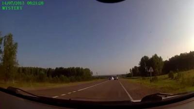 ДТП на трассе Енисейск-Красноярск. 14.07.2013