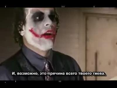 Джокер на допросе у Бэтмена ч2
