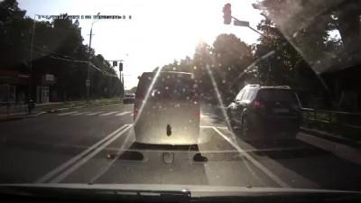 Скорая помощь сбила пешехода (г. Винница 30.07.14)