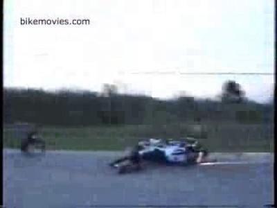 Столкновение мотоциклистов