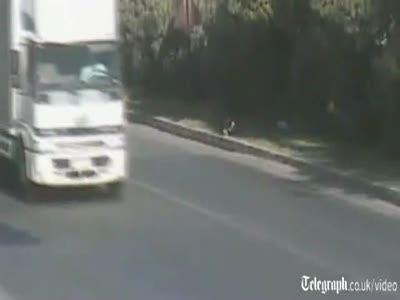 Ребенка спас правильный водитель
