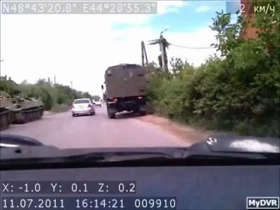 Волгоград. Авария БМП