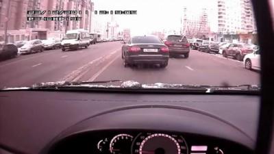 Видео ДТП - проклятая кегля