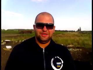 Пьяные хохлы обстреливают Российскую границу из миномета