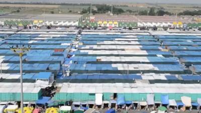 """Самая большая в мире реклама на крышах Промрынка """"7-й километр"""" в Одессе"""