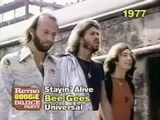bee gees - stalin'alive