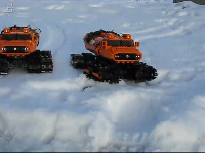 Снегоход Stilzkin Indrik Arctic Vehicle