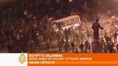 Кровавые беспорядки в Каире