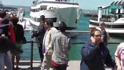 В Сан-Диего круизный лайнер врезался в пристань