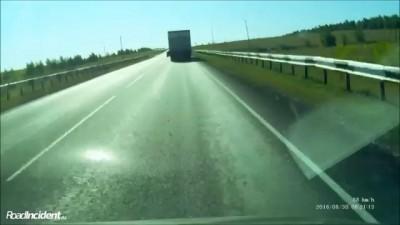 Конфликт на трассе Самара - Сызрань