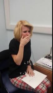 Эмоции глухой женщины