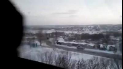 Боевики стреляют из Града около жилых домов