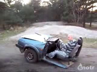 Езда на половине авто