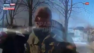 Александр Захарченко чуть не подрался с офицером ВСУ
