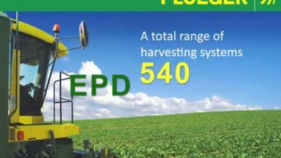 *NEW* Ploeger EPD 540 - Self-propelled pea harvester