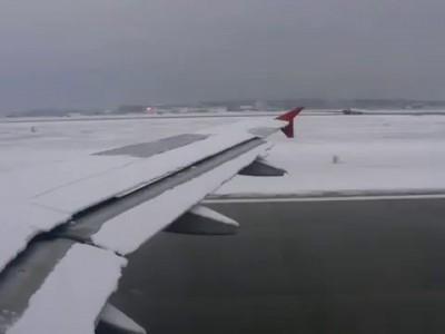 вылет из Шереметьево без обработки самолёта