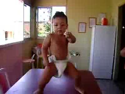 Танцующий ребёнок