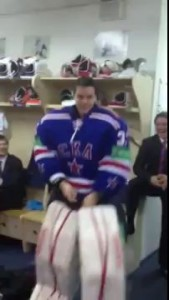 GANGNAM STYLE PARODY by Ice Hockey Goalie Ilya Ezhov Dance Илья Ежов Танец
