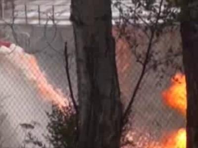Пожар под Иркутском грозит взорвать 10 цистерн с нефтью  ...