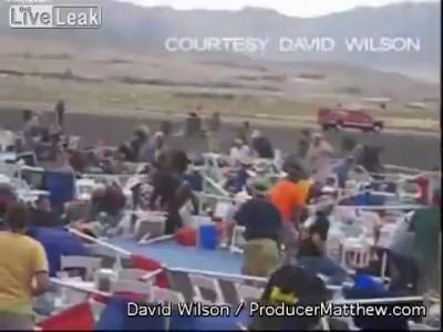 Катастрофа на авиашоу в Неваде