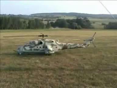 RC-model Mi-24