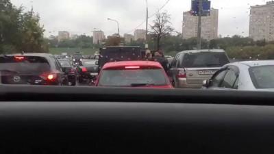 Беспредел на дороге после ДТП: Бэнтли м252мм99