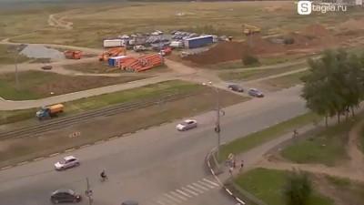 ДТП на перекрестке ул. Дружинина и пр-т Уральский
