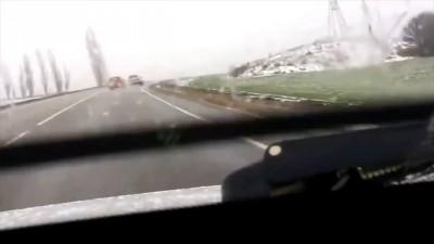 Молния во время погони