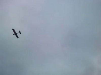 Первый полет Cessna 150 из потолочки.mp4