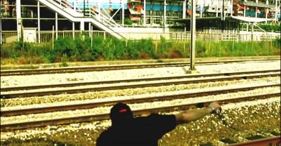 Паренек в Голландии добровольно лег под несущийся поезд ...