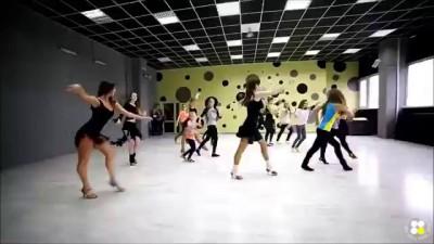 Классный танец!Самба
