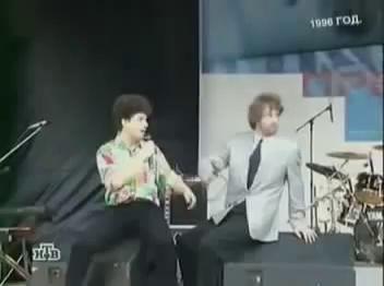 Ельцин танцует 1996 год