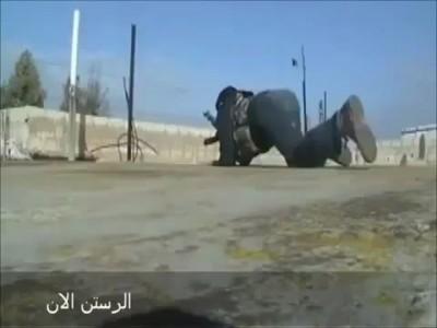 Сирийские ополченцы - дилетанты