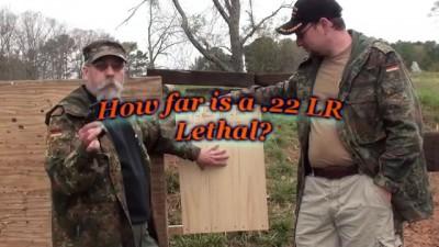 How far will a .22 LR Kill?