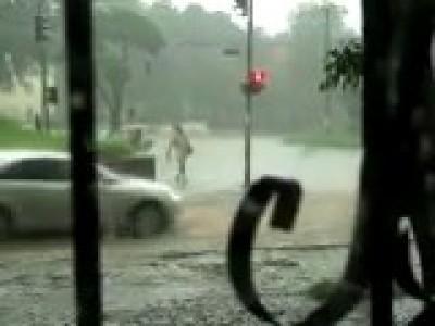 Дождь в Днепропетровске