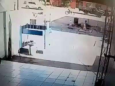 ЧП  на АЗС в Бразилии