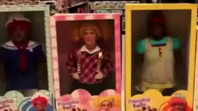 Покупателей довели до срыва розыгрышем с куклами