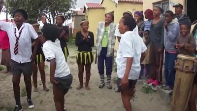 Африканские зомбо-танцы