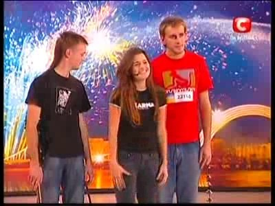 Украина мае талант 2 - группа ВОДА